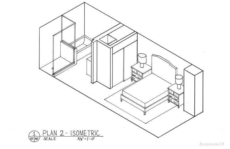 isometric drawing house plans