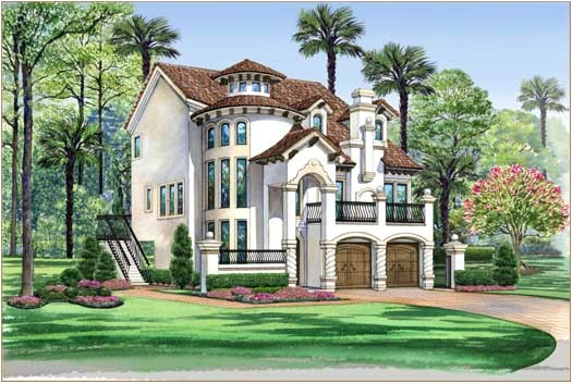3596 sq ft home 3 story 3 bedroom 3 bath house plans plan63 443