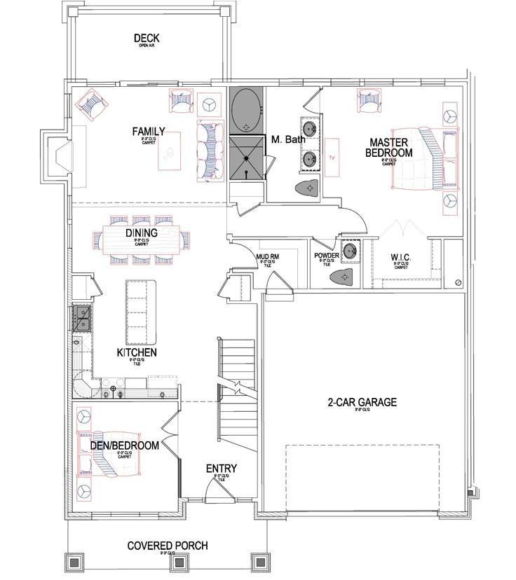 ivory homes floor plans