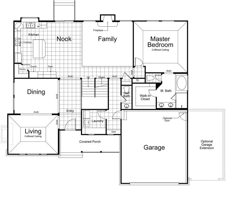ivory homes hamilton floor plan