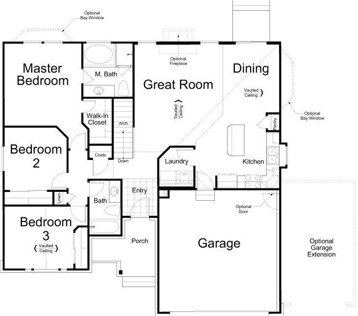ivory homes revere floor plan