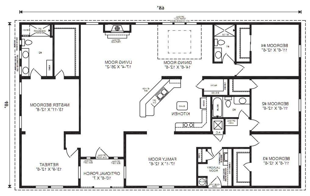the oak hill modular home floor plan jacobsen homes