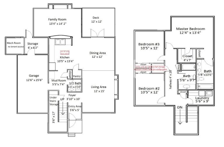 kadena afb housing floor plans