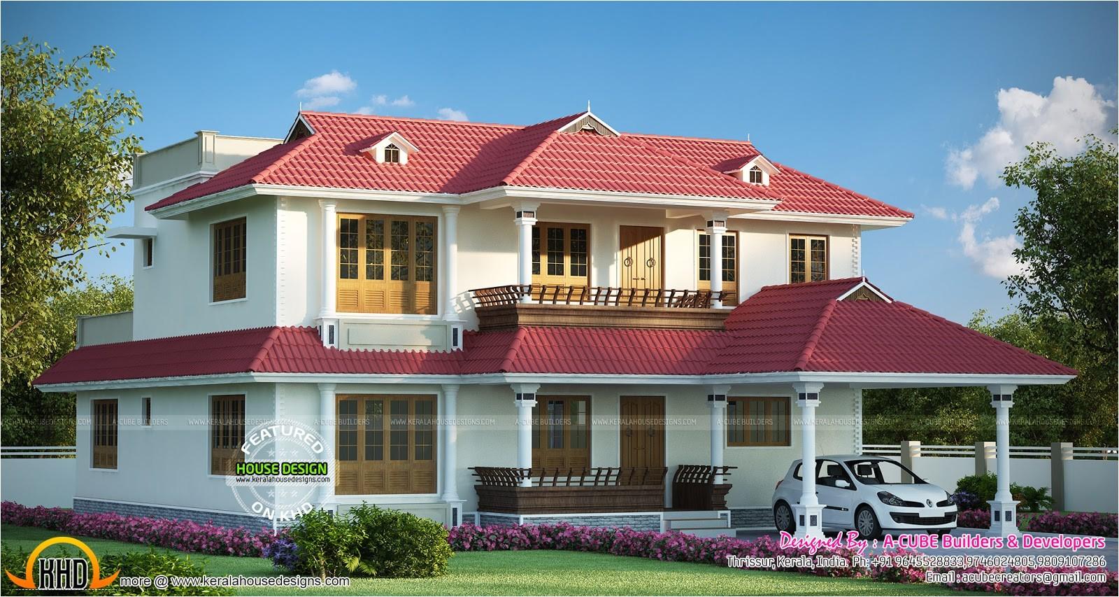gorgeous kerala home design