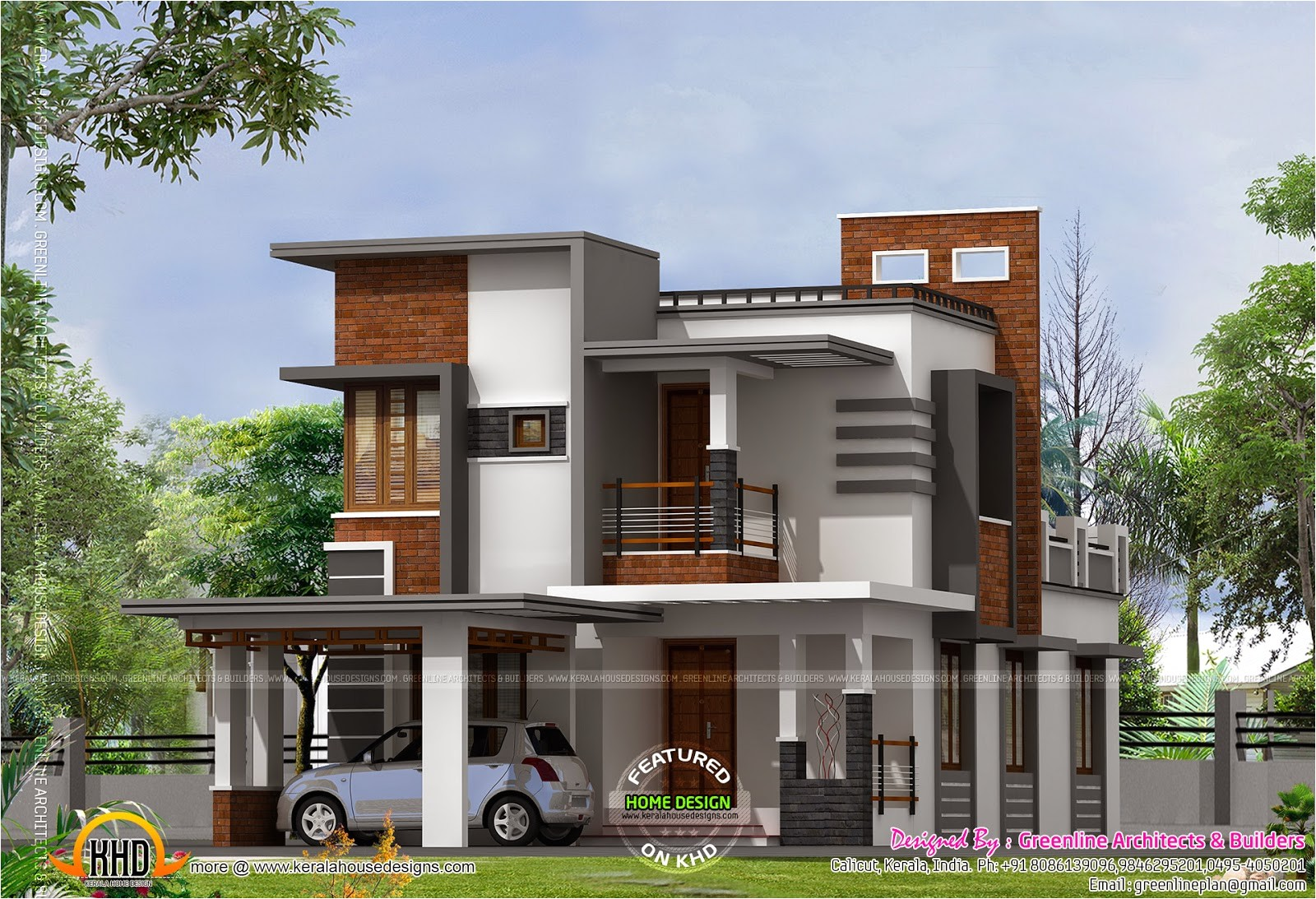 low cost contemporary house kerala home ideas and front design 2017 budget picture floor plans with plan trends