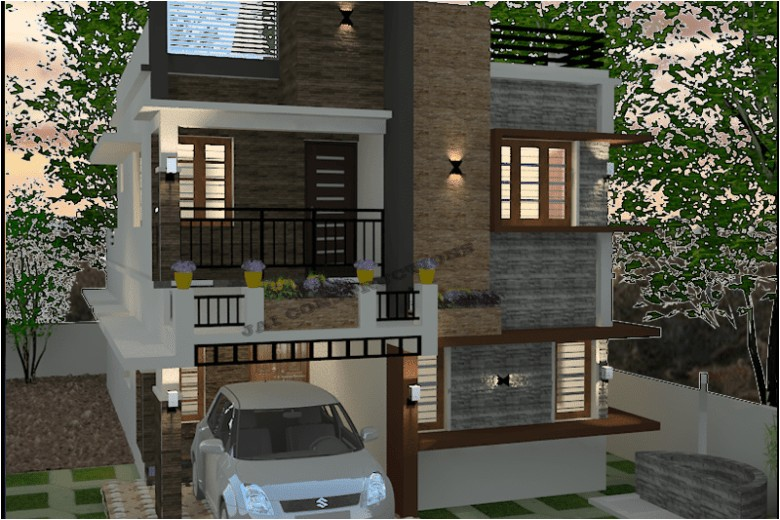 Kerala Homes Plans Low Cost Low Cost House Plans Kerala Model Home Plans 4 Roomed