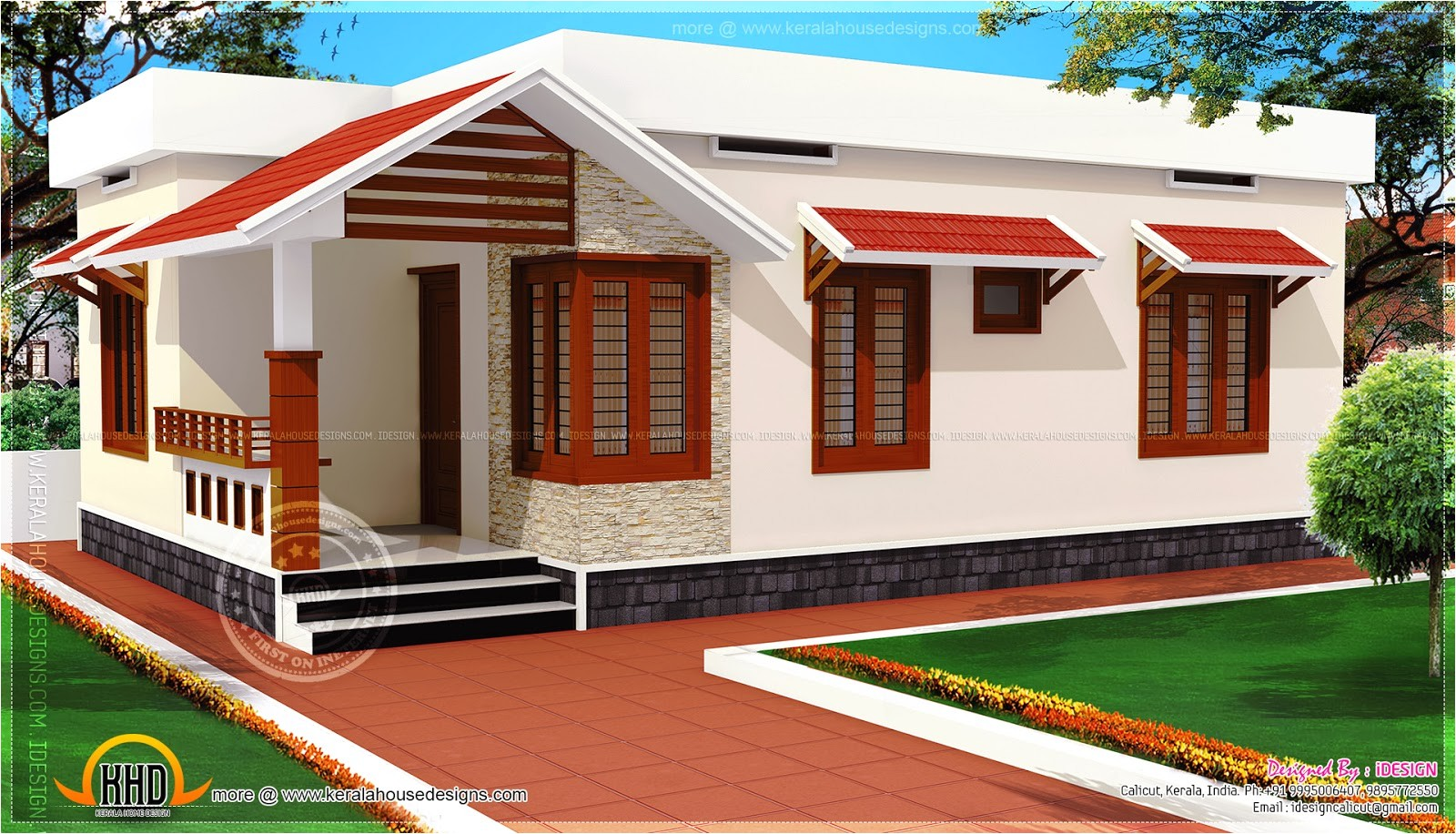 low cost kerala home design