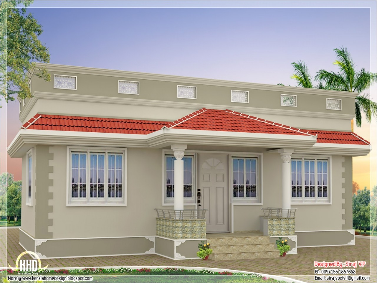 015993e692e9ce41 kerala style single floor house plan kerala home design