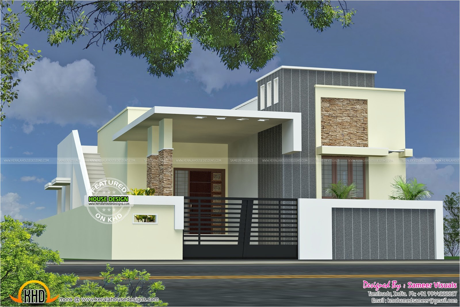 single floor house plan kerala home design plans 2