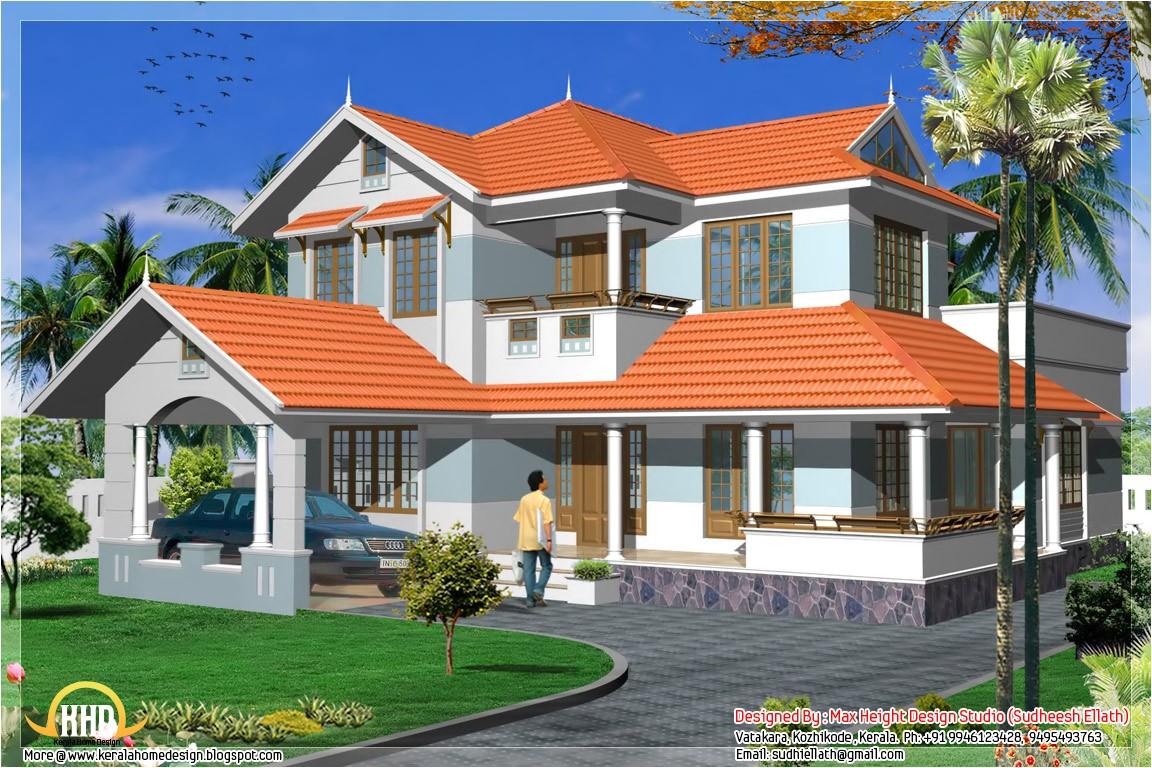 2280 sqft kerala style house plan