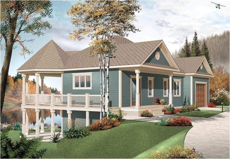 Lake Home Plans with Double Masters Country Plan 2 072 Square Feet 3 Bedrooms 2 Bathrooms