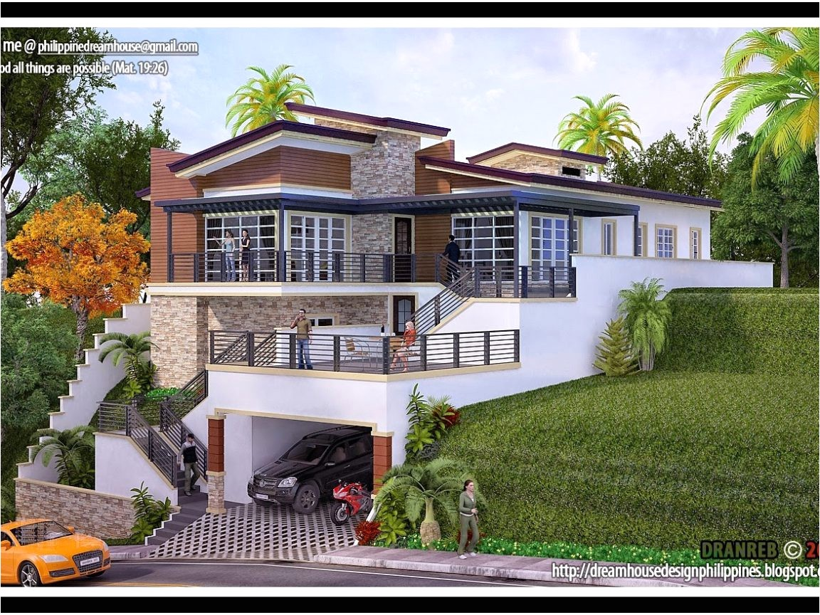 lake house plans with rear view luxury astounding sloped lot house plans sloping au modern with walkout