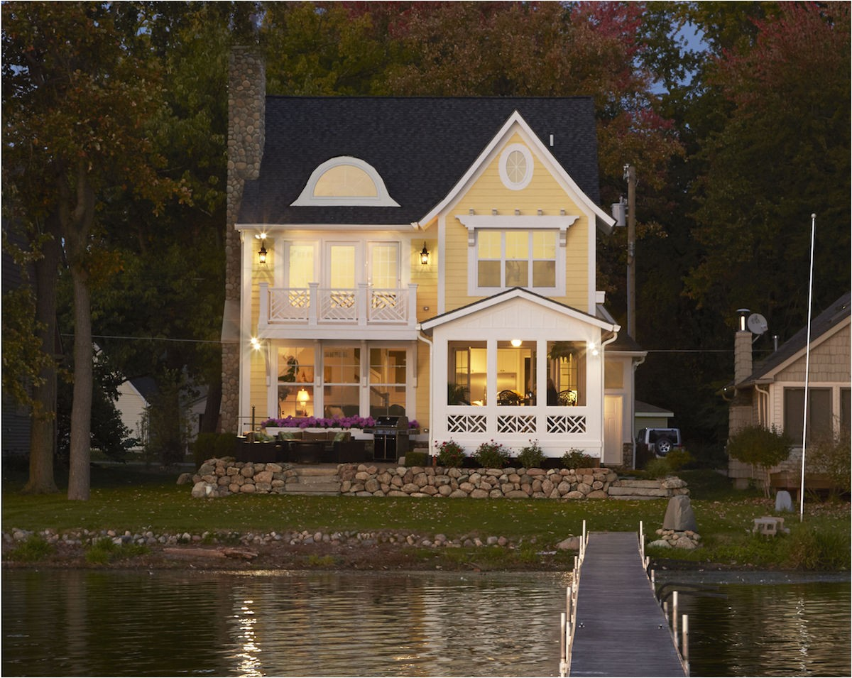 Lakefront Home Plans Narrow Lot House Review solutions for Narrow Lots Pro Builder