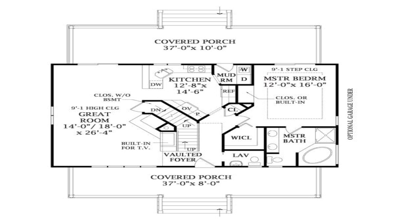 e285d414bfb2bd65 lake home plans with basement lakeview house plan