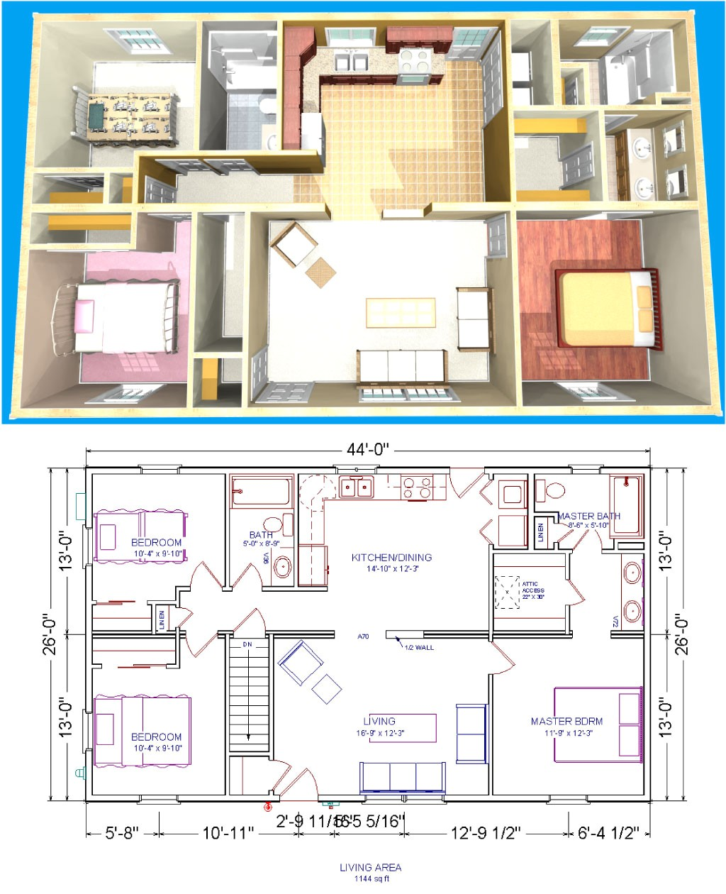 lakeview home plans