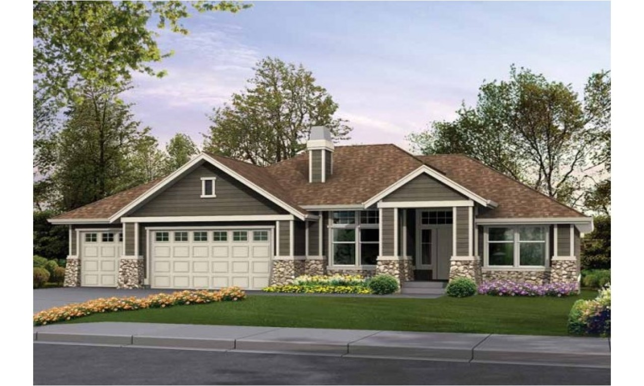 3 bedroom craftsman style house plans large