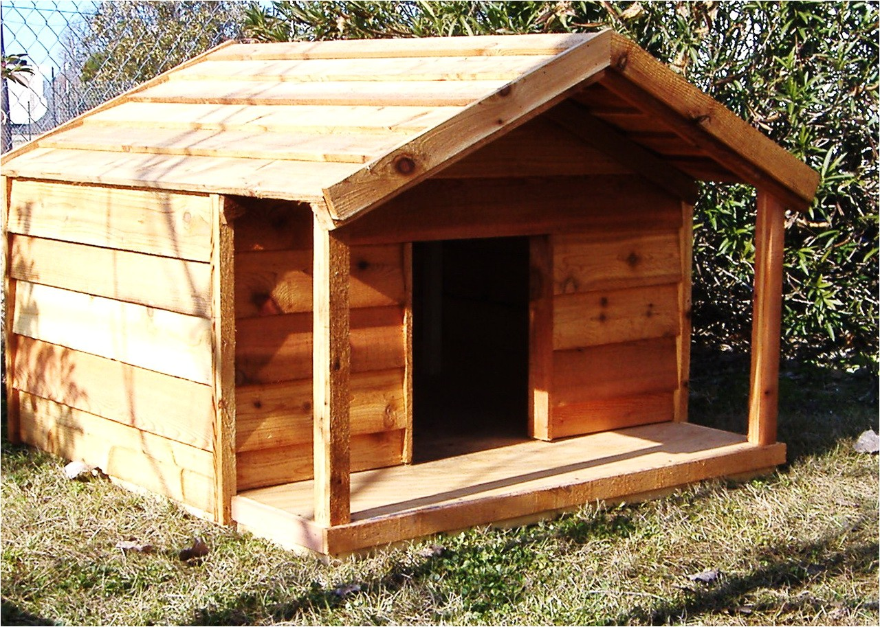 36862 large dog house plans with porch
