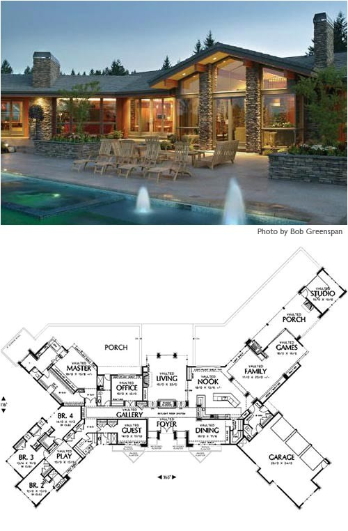 8 cliff may inspired ranch house plans from houseplans com