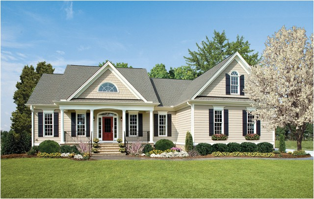 one story ranch style home plans from don gardner architects traditional exterior charlotte