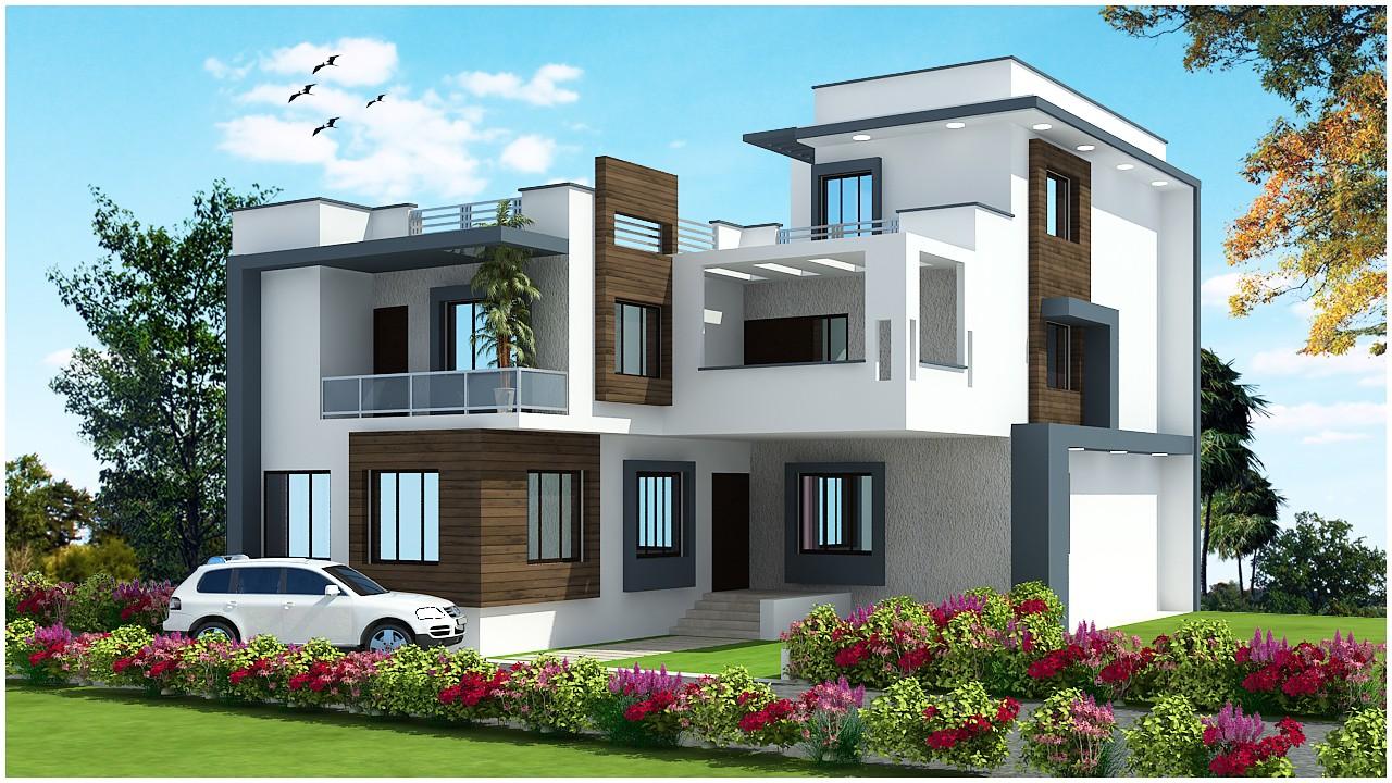 10 latest duplex house elevation
