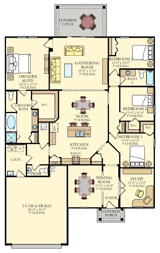 lennar homes floor plans houston