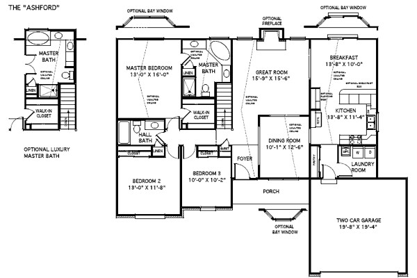 custom home floor plans with pictures