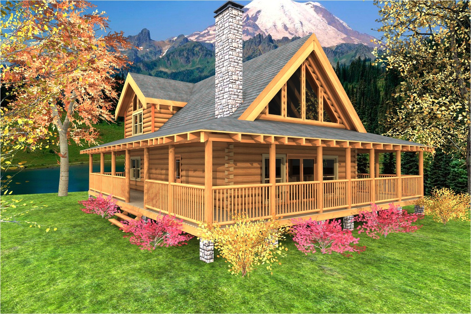 high resolution cabin home plans 12 log cabin floor plans with wrap around porch