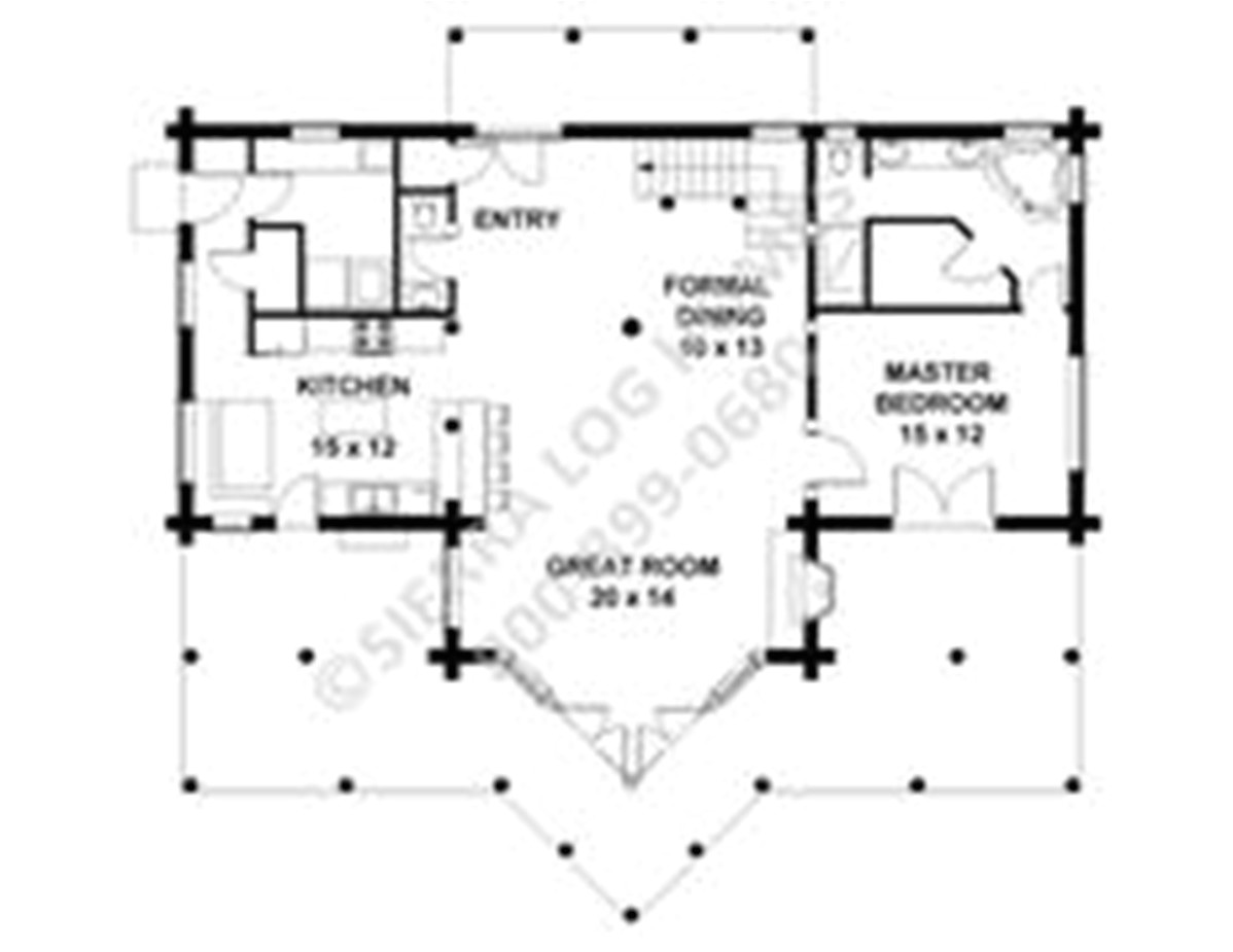 log home designs floor plans