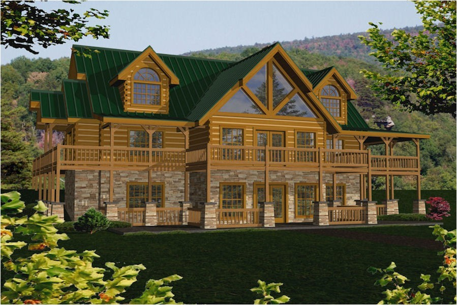 tennessee log homes plans
