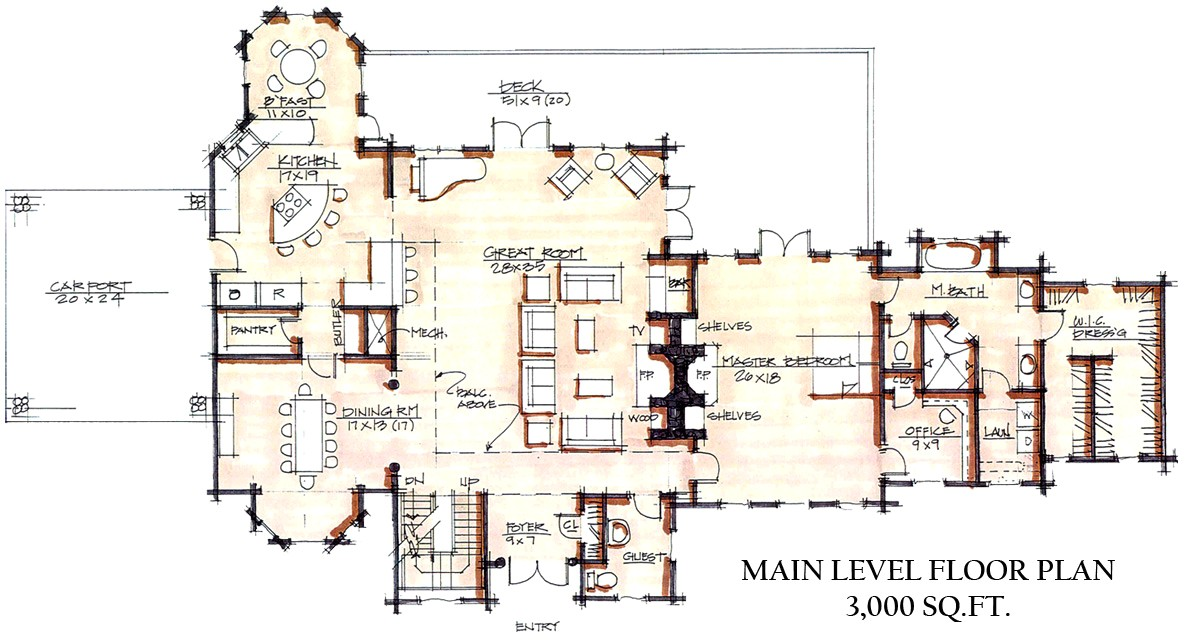 floorplan pomerance