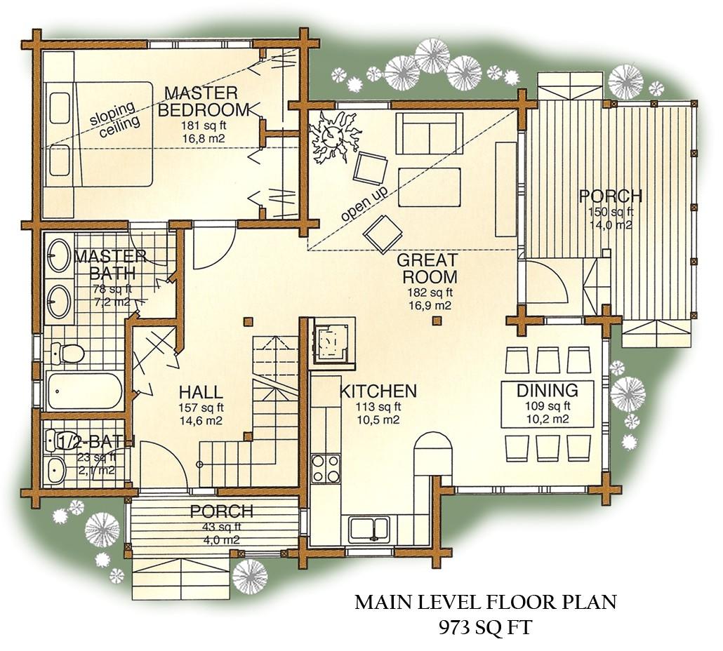 floorplan overlook