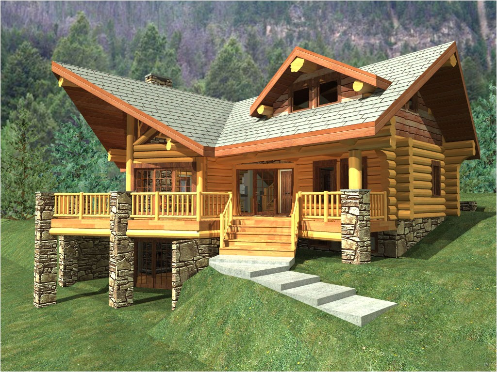 best style log cabin style home