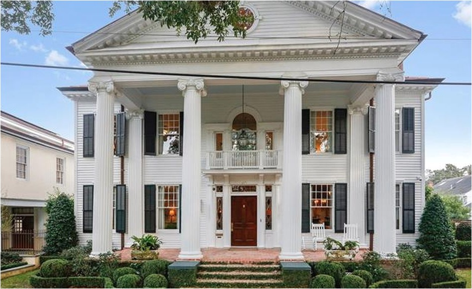 neoclassical revival style home in new orleans louisiana floor plans
