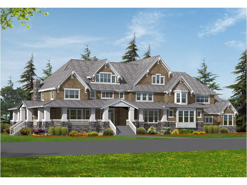 Luxury Craftsman Home Plans sofala Luxury Craftsman Home Plan 071s 0048 House Plans