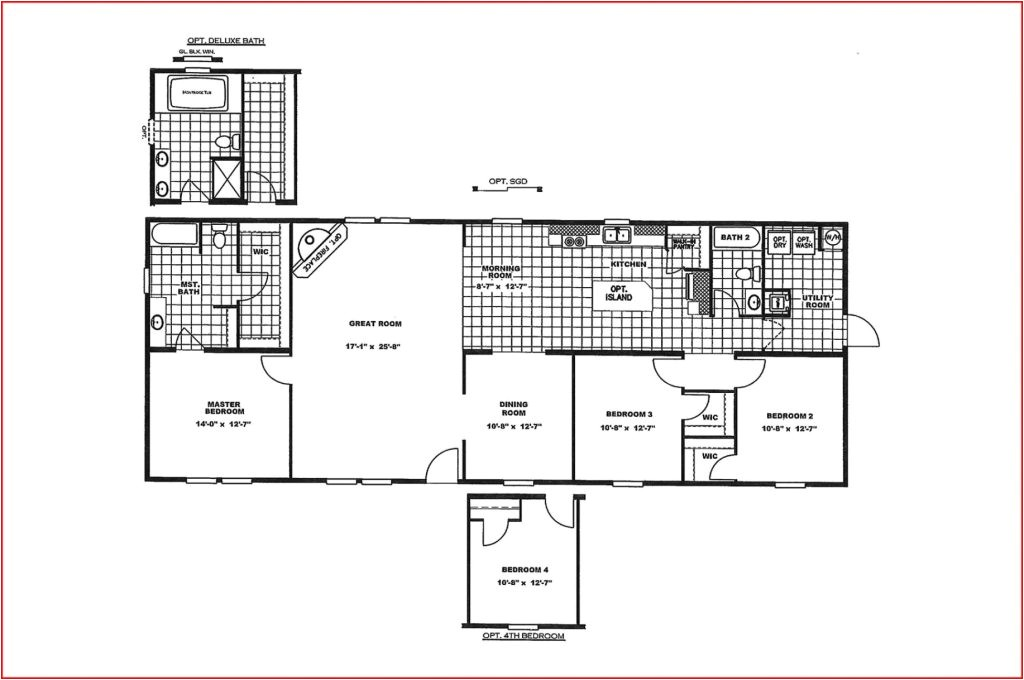 luxury new mobile home floor plans