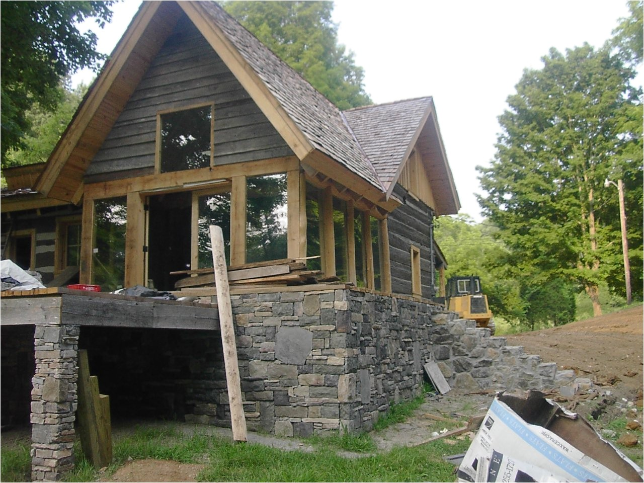 timber frame house plans maine