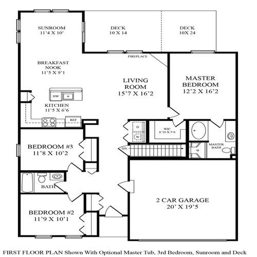 maronda homes winchester floor plan