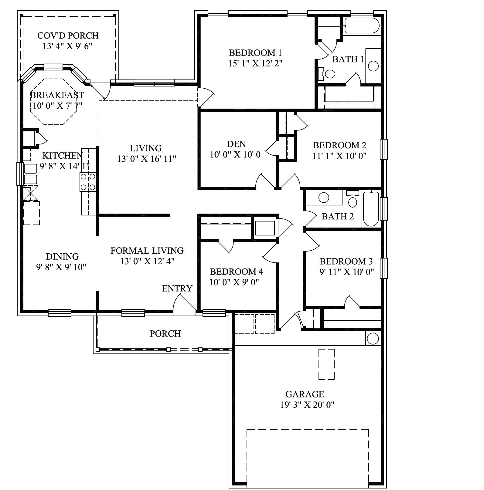 12114 mercedes homes floor plans 2004