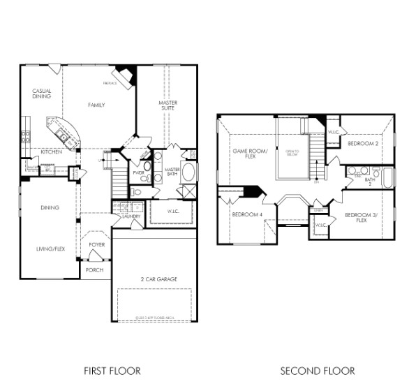 luxury meritage homes floor plans