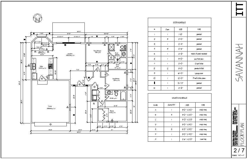 architectural drawings in autocad