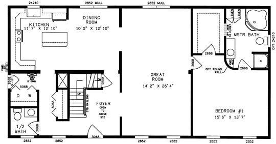 modular home floor plans michigan