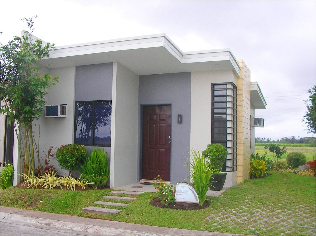 minimalist beautiful small house design for bahay ofw micro houses