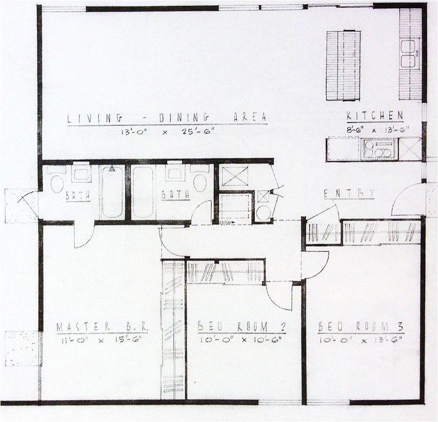 Mid Century Modern Homes Floor Plans Luxury Mid Century Modern Homes Floor Plans New Home