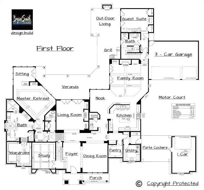 million dollar home floor plans
