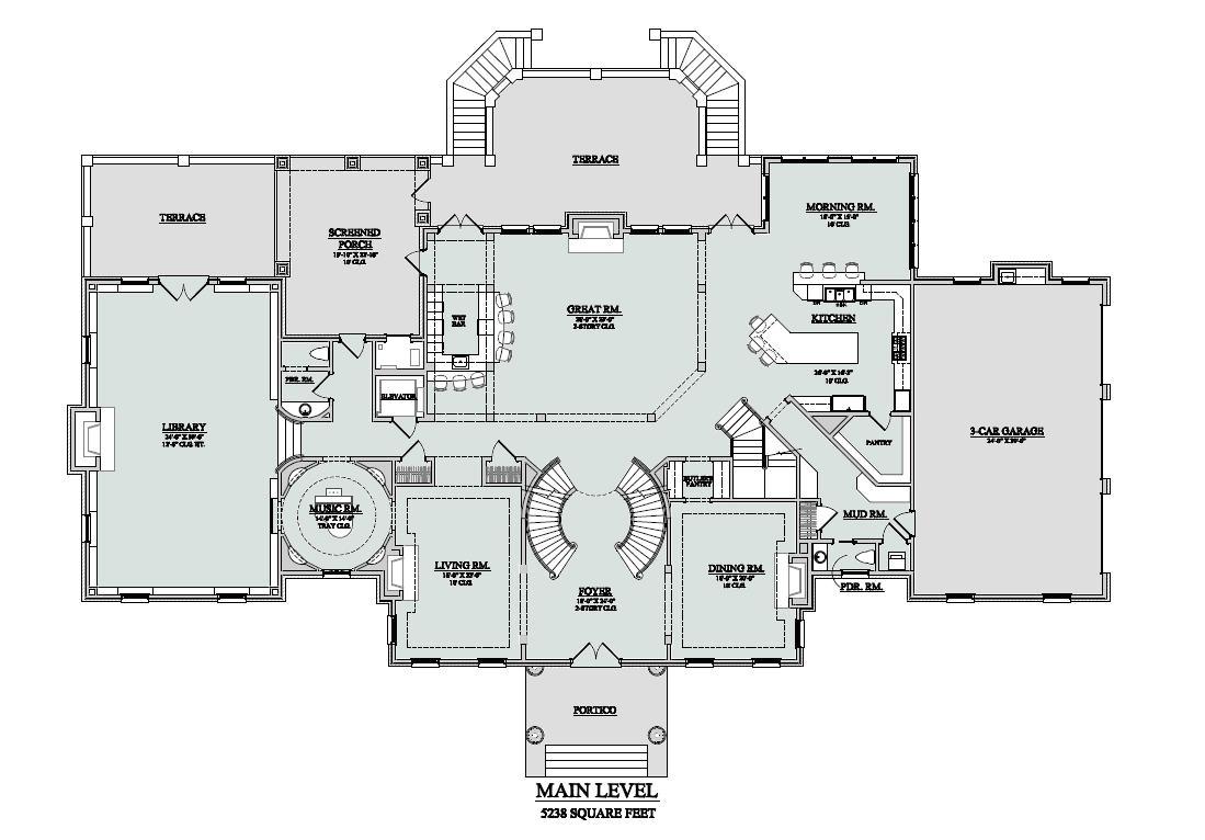 million dollar home plans