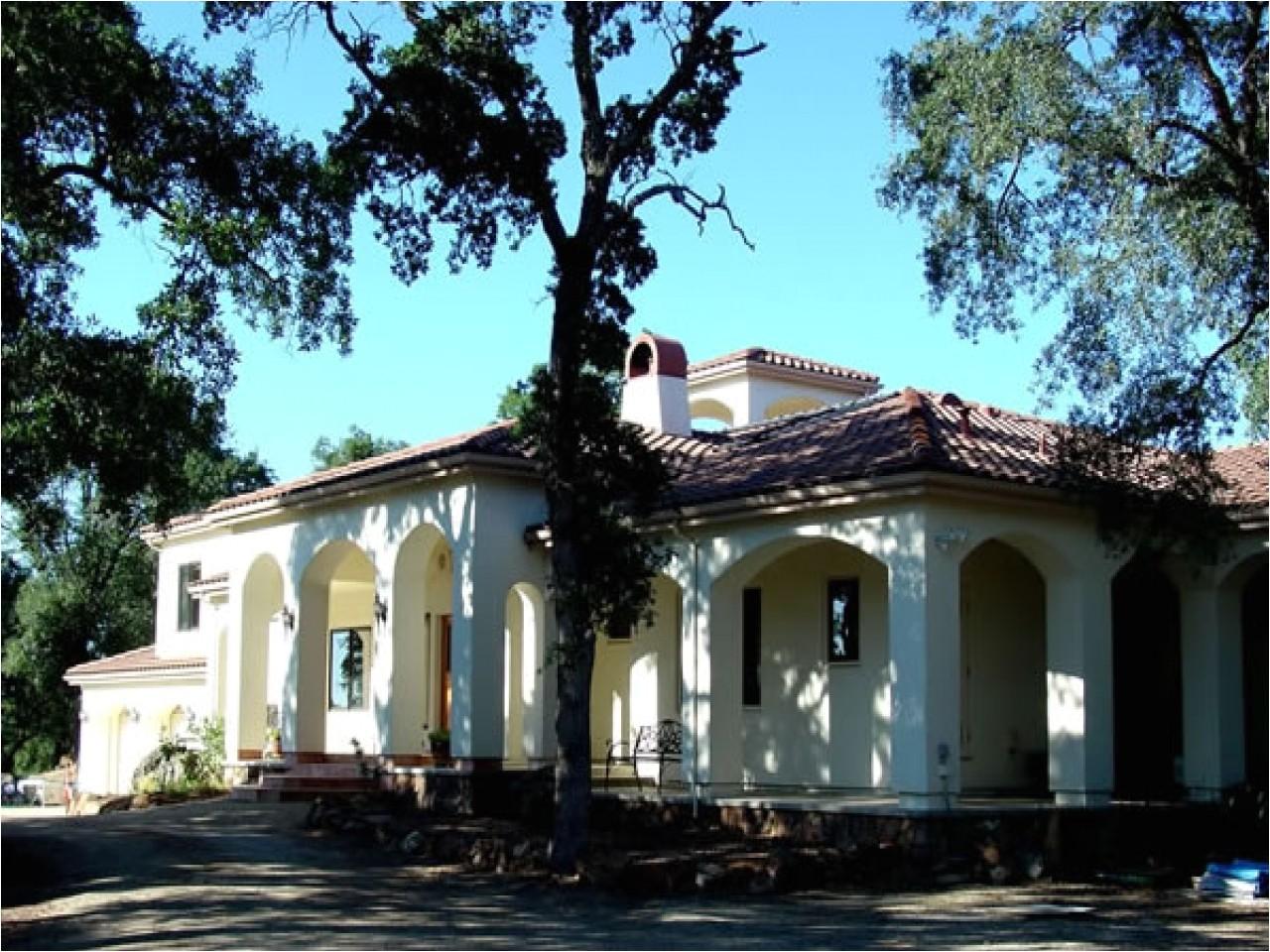 spanish mission house plan