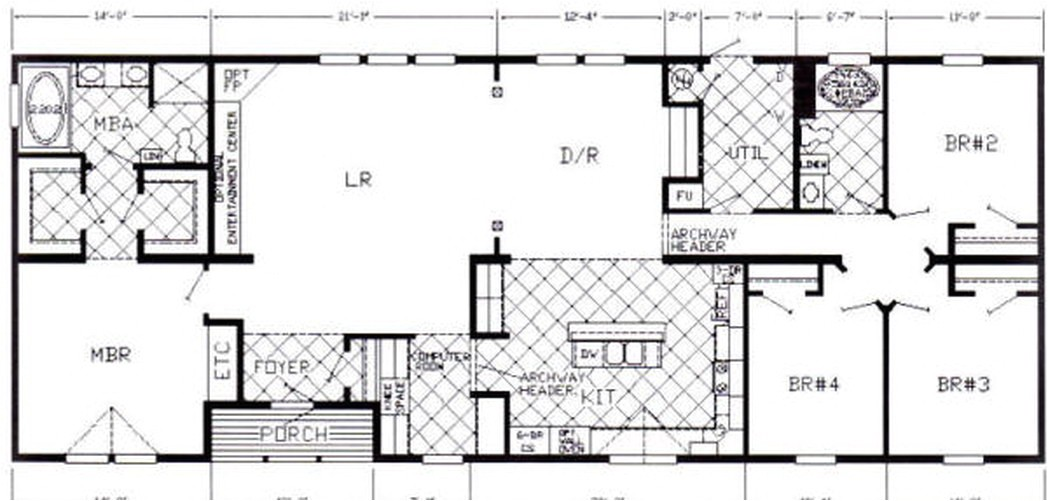 Mobile Home Floor Plans Alabama Floor Plans From Mobile Homes Dothan Alabama 581477 Us