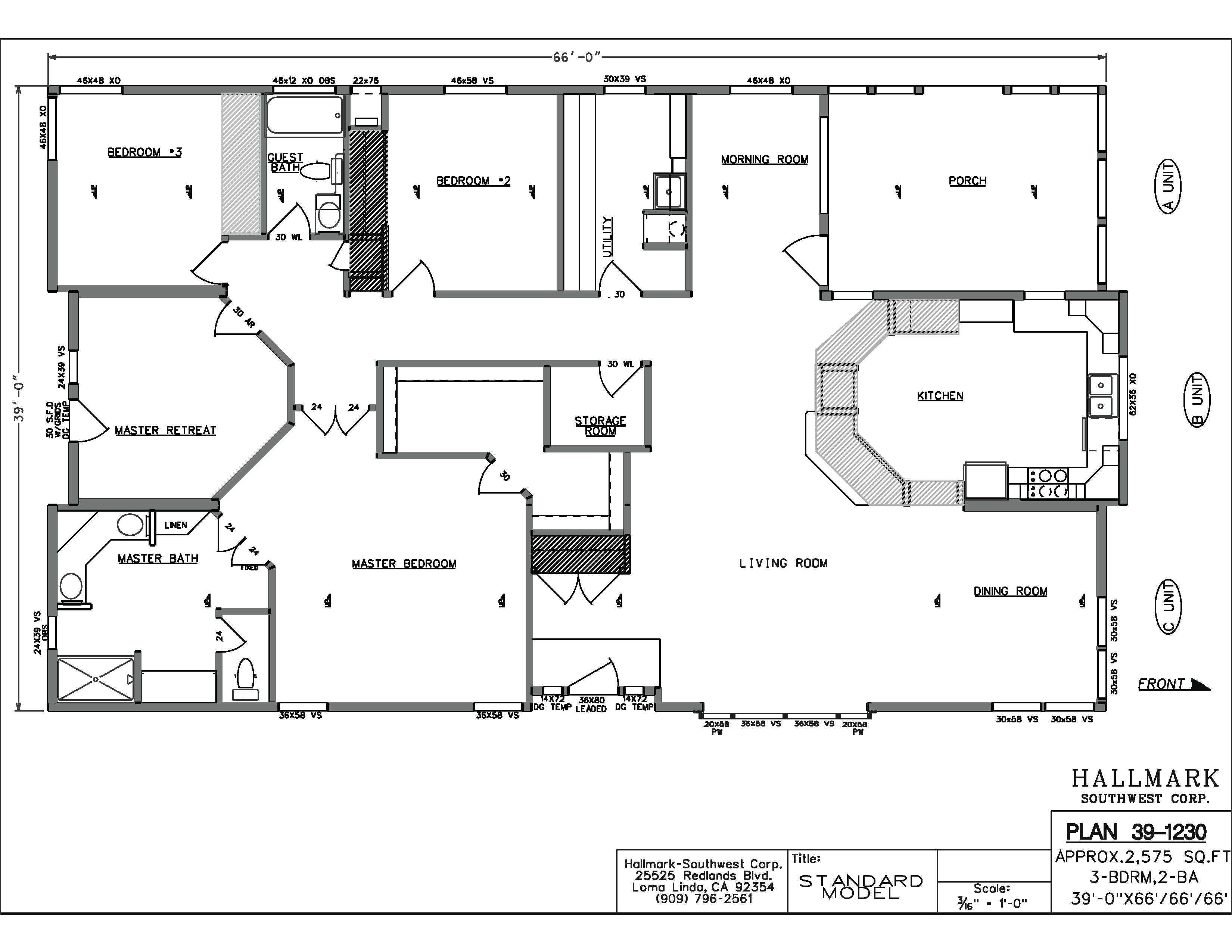 Mobile Home Floor Plans Alabama Manufactured Homes Floor Plans Alabama