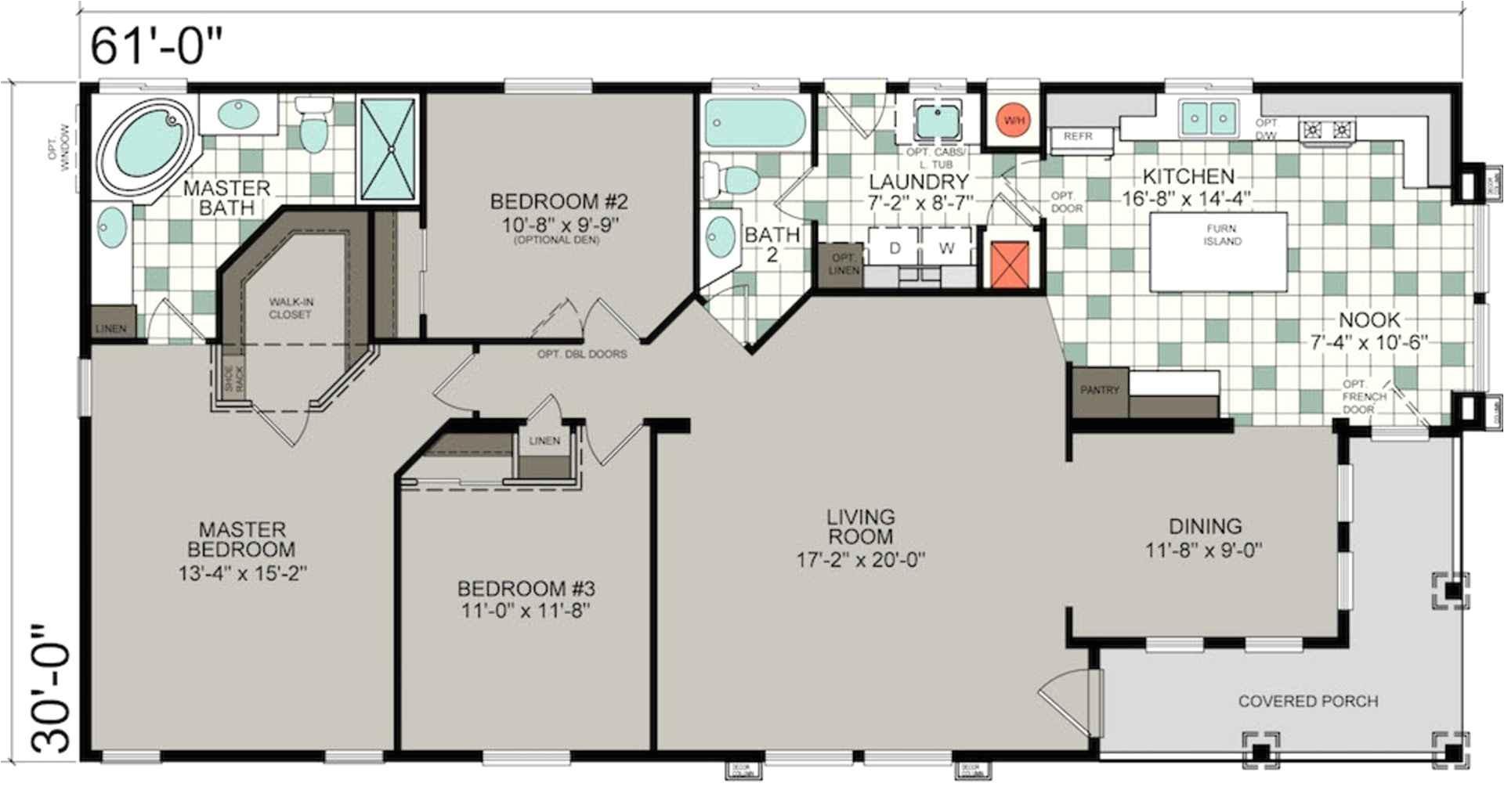 mobile home floor plans alabama
