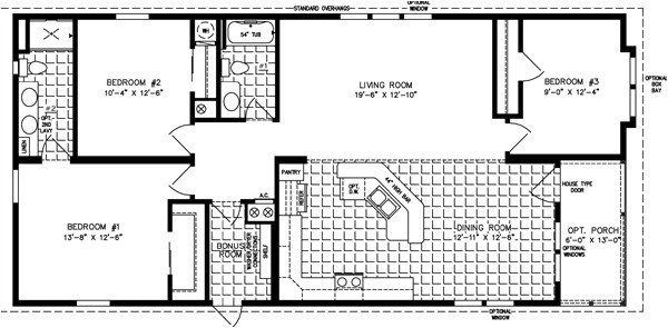 Mobile Home Floor Plans and Pictures Large Manufactured Homes Large Home Floor Plans